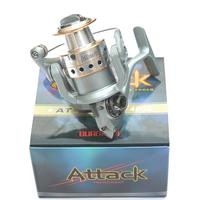 GUANGWEI attack at2000 4 shaft spinning wheel fish reel fishing reel lure wheel metal