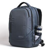 "Newest Fashionable Laptop Notebook Computer Backpack KS3034 15.6"" Waterproof Shockproof (Gray/Black)"