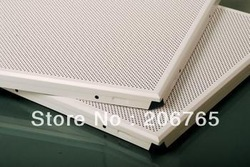 295*595MM Clip in aluminum acoustical ceiling panel(China (Mainland))