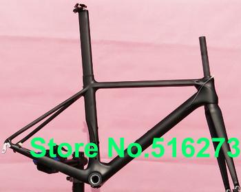FR-315 Full Carbon Matt Road Bike Frame , fork , seatpost , clamp , headset - 50 , 52 , 54 , 56 , 58cm