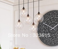 Nordic Modern Minimalist Creative Glass Ball Chandelier Dining Room Living Room Pendant Lamp