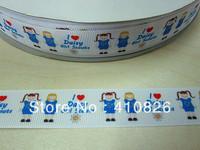 WM ribbon wholesale/OEM 7/8 inch22 mm daisy grosgrain ribbon 50yds/roll free shipping