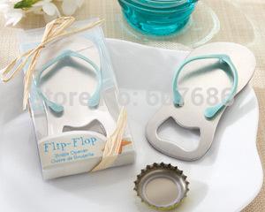 "Wholesale 50 Pieces ""Pop the Top"" Flip-Flop Bottle Opener Wedding Favor Wedding Keepsake Gift for Guests Party Supplies"