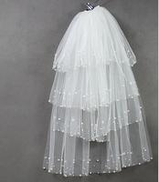 Beautiful noble - veil bridal veil wedding dress veil - bridal accessories ts668 free shipping