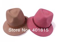 Free Shipping Women's Wool felt Fedora, Wool Felt Hat, Women's wide-brimmed Fedora, Hat, 100% Woll Felt