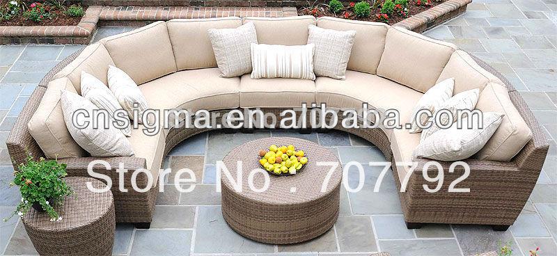 2015 new design rattan garden sofa set(China (Mainland))