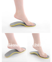FREE SHIP 1Pair Men&women New Pain Relief Orthotic Arch Support Shoe Insoles