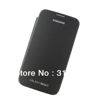 Black OEM Slim Plastic Case Cover for Samsung Galaxy Note 2 II N7100+Free Shipping