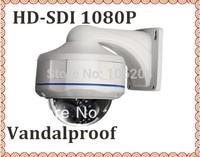 Waterproof Video  Full HD SDI 1080P  4-9mm Varifocal lens CCTV WDR infrared vandalproof Dome camera  outdoor