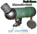 Free Shipping Astronomical spotting scope 20X50 Power Monocular Telescopes for birdwatching with Tripod outdoor
