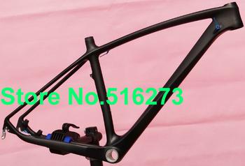 """FR-216 Full Carbon Matt 29er Mountain MTB  Bike Frame , headset - 17"""" , 19"""""""