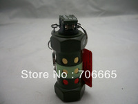 Popular 825 Grenade Shape Butane Refillable Cigarette Cigar Lighter Army Green