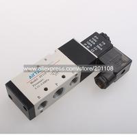 A401A 4V310-10 AC 110V 5 port 2 position 0.15~0.80MPa Pneumatic Solenoid Valve