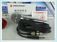 free shipmentwiremicrophone computer microphone network K song microphone karaoke condenser mics