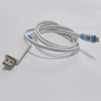 LED light usb cable for iphone 5 usb cable with charging&sync data function