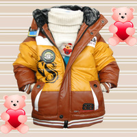 D89 child children's clothing male child winter wadded jacket 2012 cotton-padded jacket thickening outerwear children
