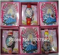 Free shipping! Christmas Gift !100pcs/lot ! Fashion Cartoon Kids Watch Children Quartz Wrist Watch A1606 Wholesale