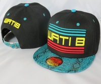 WATIB  Snapback hats black blue  Snake caps top quality  mix order accept  freeshipping!