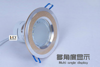Dimmer Recessed smdLED Celling Spotlight 6W LED Downlights warm white led ceiling light AC85-265Venergy-efficientWholesale