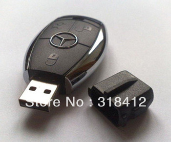 Car Key Shape USB 2.0 Flash disk Drive Stick Guaranteed Full Creative U Disk 2gb 4gb 8gb 16gb 32gb Free & Drop shipping
