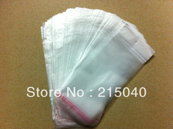 500pcs/lot Self-adhesive OPP Bag Matte Packaging Bag with Hanging Hole 90*150mm 100*160mm 110*175mm, Free Shipping! PAC-001