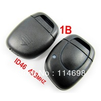 Remote Key 433Mhz 1 Button ID46 for Renault