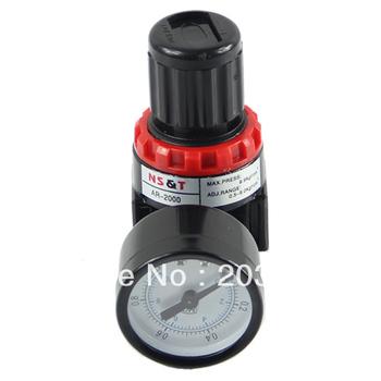 D19+Free Shipping! Air Control Compressor Pressure Gauge Relief Regulating Regulator Valve AR2000