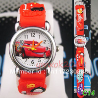 Free shipping! 2 PCS Wholesale Car 3D BYO Wrist watches  Children's kid toys Quartz Watches