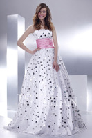 2014 New style Sweetheart Sequined Tulle Quinceanera Dresses 2014 vestidos de 15 anos size 6 8 10 12 14 16 11G016