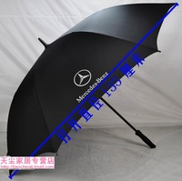 2 piece/lot Large benz golf umbrella for Two Person long-handled UV protection creative gift for men + free shipping