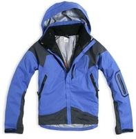 Mens Outdoor Jacket Name Brand Waterproof Breathable Windbreaker Winter Hiking Wear Best Quality