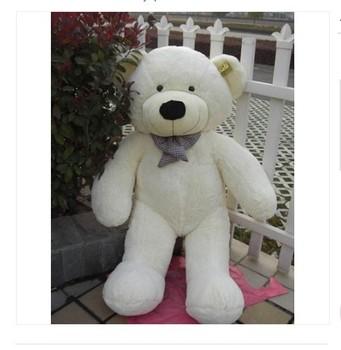 1.2m  Huge Giant Cuddly Soft Stuffed Plush Teddy Bear Toy Animal Doll XMAS Teddy Bear Toy Animal Doll White