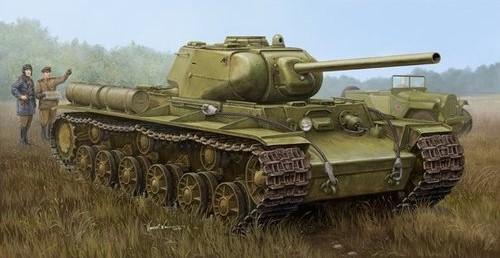 Trumpeter model 01567 1/35 Soviet KV-1S/85 Heavy tank plastic model kit(China (Mainland))