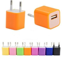 New EU Europe USB Plug Power Adapter Charger for Charging