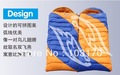 New Camping High Quality Outdoor Envelope Couple Sleeping bag With Compression Sack With Hood 1.5KG