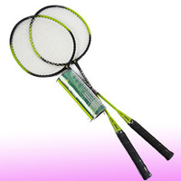 Professional 2 Player Badminton Set 2 Rackets 3 shuttlecocks +Carrying Bag #7899