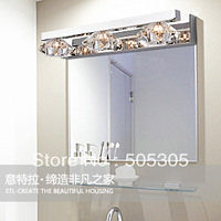 Factory price whoelsales Modern Crystal wall lamp For Bathroom, Living Room, Saloon, etc.(Chrome Color)ETL2023
