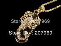 4gb/8gb/16gb/32gb  Jewelry Necklace Animal Scorpion USB Flash Drive,Pen Drive,Memory Stick,Free Shipping