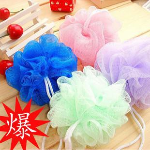 Min. order is $15 (mix order)  multicolour bath ball bath towel