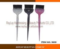 Professional high quality durable rubber plastic hair dye brush