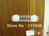 Free shipping PVC Removable door lock,Baby safety protection product,refrigerator lock,Closestool lock as family supply.