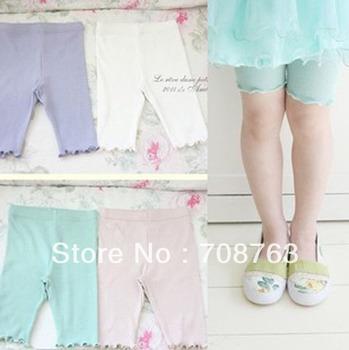 Soft & Confortable Princess BERMUDA Leggings For Baby Girls Wholesale 1 Lot 5 PCS
