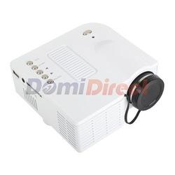 UC28 Mini projector LED Digital Video Game Projector Native320 X 240 VGA AV USB SD card input(China (Mainland))