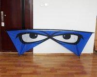 "94"" 4 four Line Kite Eyes Kite Carbon Rod ,send free gift package, Outdoor sport LK014"