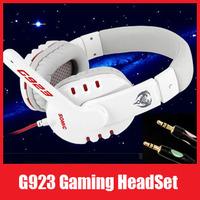 Good Quality Somic G923 Stereo Gaming Headset Headphone Powerful Bass Earphone with Microphone 40mm Hi-Fi Speaker,Free Shipping!