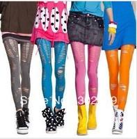 2451  Europe and America's style women's Leggings elastic  tight pants 5pcs/lot  free shipping