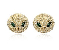Wholesale,Best gift,Lovely women's Earring,18k gold GP,Fahsion Earrings,
