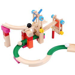 Nut combination puzzle toy roller coaster track blocks child toy(China (Mainland))