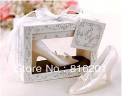 10PCS High-heeled Shoe Shaped Wedding unique gift ideas Free Shipping,candle centerpiece wedding , Hot Sale(China (Mainland))