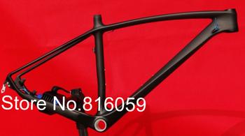 """FLX-FR-216 : 3K Full Carbon Matt 29ER Mountain MTB Bike Bicycle Frame ,  Headset - 17"""" , 19"""""""